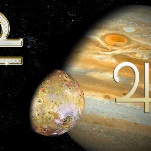12 сентября — Юпитер перешел в знак Весов